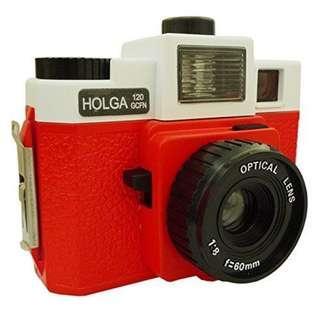 Holga 120 GCFN (Red and White)