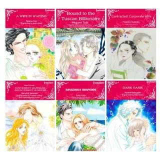 Paket Ebook Komik Harlequin English 84