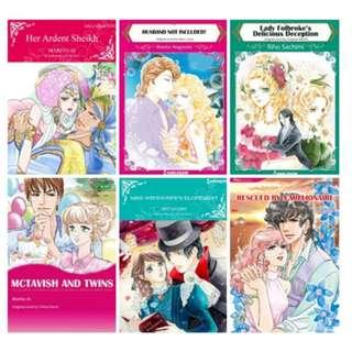 Paket Ebook Komik Harlequin English 85