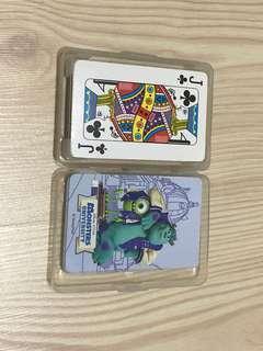 🚚 怪獸大學撲克牌