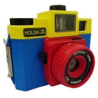 Holga 120 GCFN (Yellow, Red and Blue)