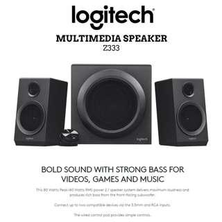 ⚡FLASH SALE!⚡ Logitech Z333 Computer Speakers System Gaming Speakers with Subwoofer. Local SG Stock & Warranty! [95% DISC]