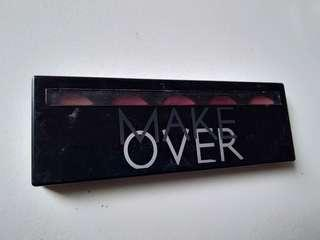 Makeover lipstik pallete
