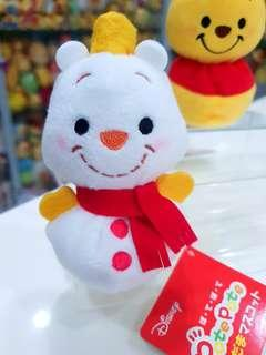 🚚 BN Very Rare Japan Disney Nakajima Limited Edition Winnie the Pooh Snowman Plush
