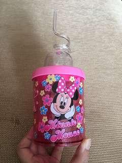 100% New Minnie Mouse cup 香港廸士尼樂園 米妮老鼠 杯