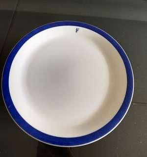 "SIA First Class Plate. Givenchy. 6.5""/17cm diameter"