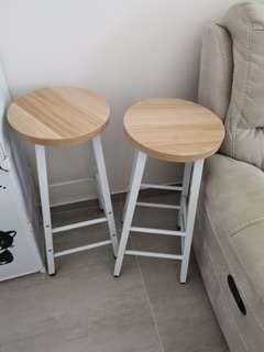 Chair北歐圓櫈實木