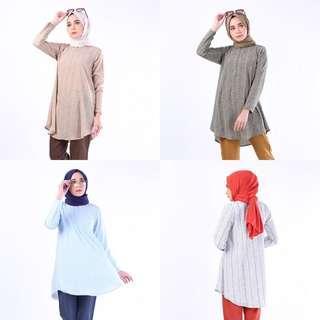 🚚 ESHA DOLL TOP 2.0 blouse peplum shirt tunic tunik muslimah