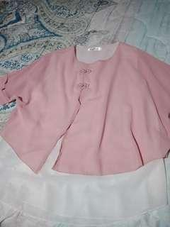 Chinese inspired fashion in Rose Pink Top