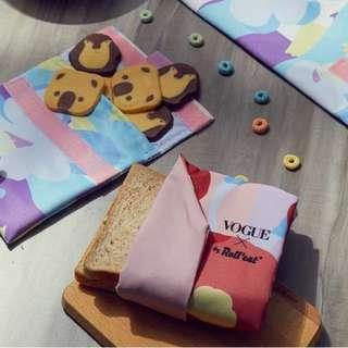 🚚 (現貨)西班牙 Roll'eat X VOGUE 吃貨零食袋+輕食袋