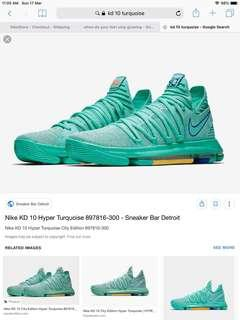 Kd 10 hyper turquoise US10