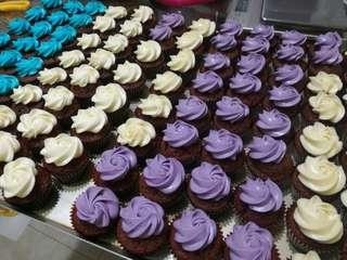 Colorful cupcakes (6cm)