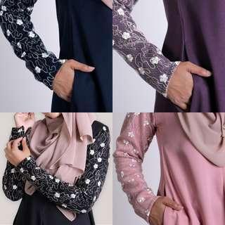 🚚 DAISYBELL DRESS jubbah jubah abaya abayah blouse baju top peplum