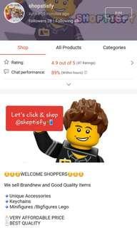 Come visit shopee @Shoptisfy