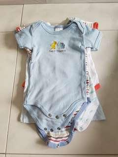Baby Boy Romper 9pc 6m