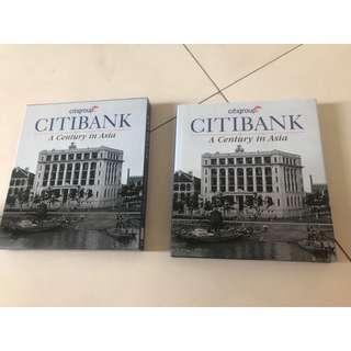 Collectible Citibank Book: A Century in Asia