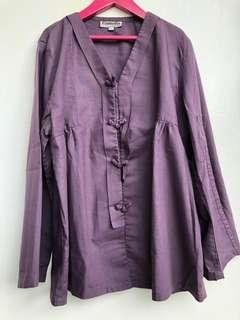 Purple Top camelia size L