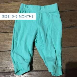 0-3mos baby pants