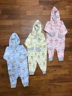 🚚 Newborn Baby Rompers with Hoodie