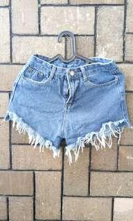 Hotpants celana jeans. Hotpants jeans