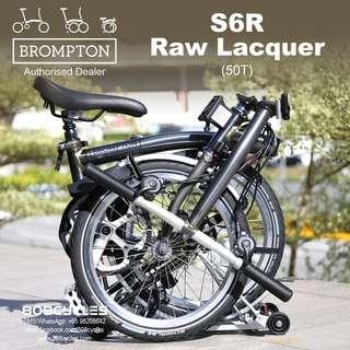 🚚 BROMPTON S6R Raw Lacquer