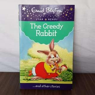 English Book The Greedy Rabbit