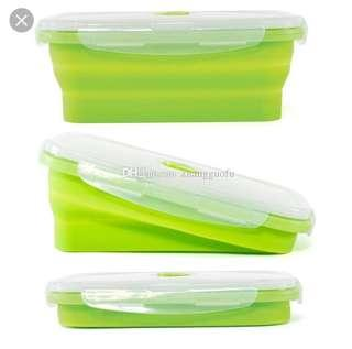 BABYLUX SILICON LUNCH BOX