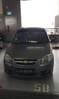 Chevrolet Aveo 1.4A $270/week No deposit