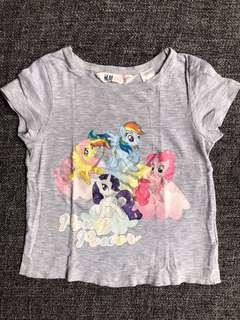 My Little Pony H&M top (1.5-2yo)