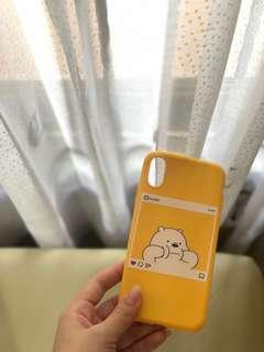iphone x casing we bare bears