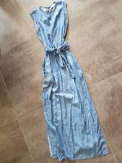 🚚 Theeditormarket denim dress size xs