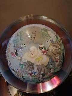 A rare globe of good fortunes