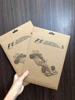 🚚 2016 Formula 1 SIA Singapore Grand Prix Car Puzzle (Licensed Product)