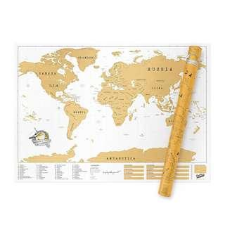 [USED] Scratch Map