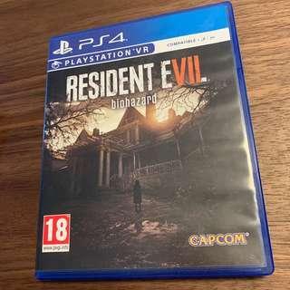 PS4 生化危險 Resident Evil 7