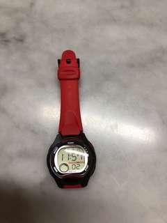 Casio watch (black button)