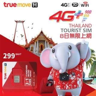 Thailand 8 Days Sim Card