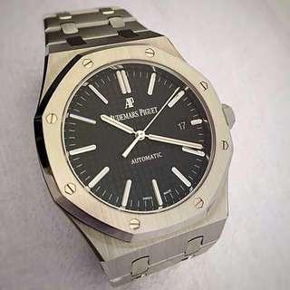 Audemars Piguet Royal Oak 15400 Black dial