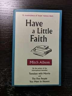🚚 Have a Little Faith by Mitch Albom