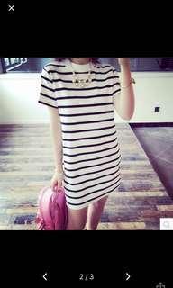 🚚 Stripe shirtDress