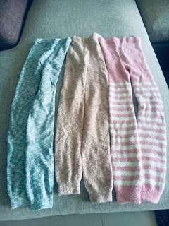 3 Uniqlo girls thermals
