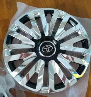 """1 Sets X 15"""" X 4 Pcs Brand New Chrome Rim Cover For Toyota Hiace/ Nissan NV350 And Cars"""