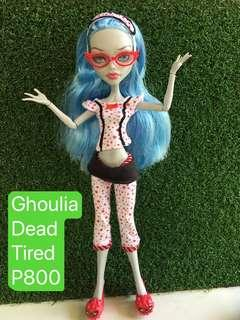 Monster High Dead Tired Ghoulia
