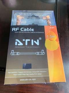 RF cable 全新未使用1.5m