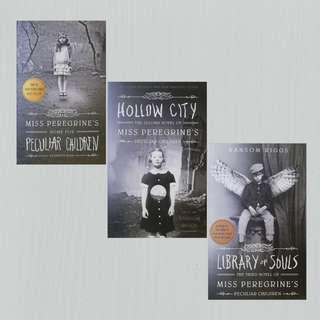 Miss Peregrine's Peculiar Children (1-3) by Ransom Riggs
