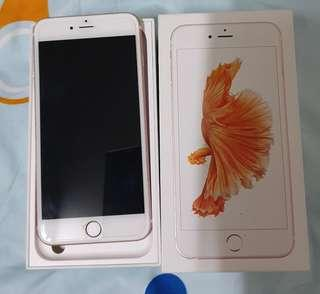 🚚 Well maintained iPhone 6s plus with original box.