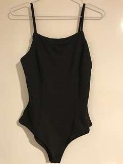 Black bodysuit size 8