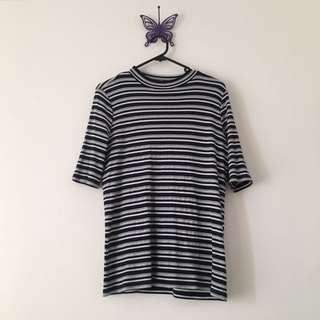 striped ribbed shirt