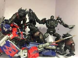 變形金剛Transformers ko wj 威將 平頭 擎天柱 柯柏文