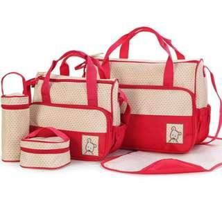 #MakeSpaceForLove 5-in-1 Baby Nappy Changing Bag